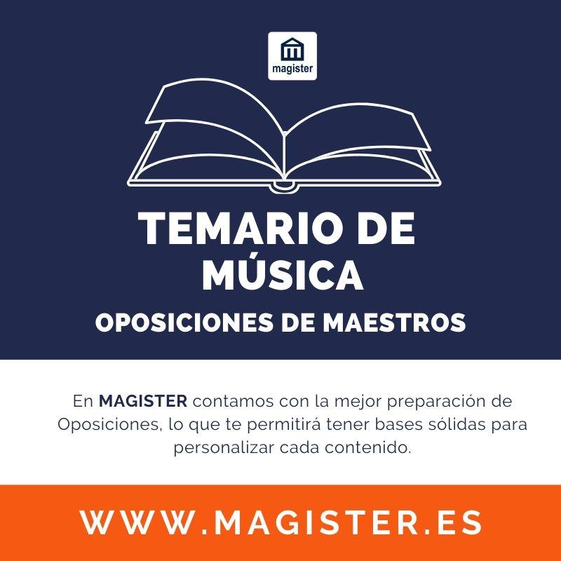 temario música maestros